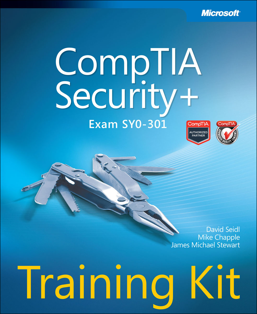 CompTIA Security+ Training Kit (Exam SY0-301) richard blum comptia linux powered by linux professional institute study guide exam lx0 103 and exam lx0 104