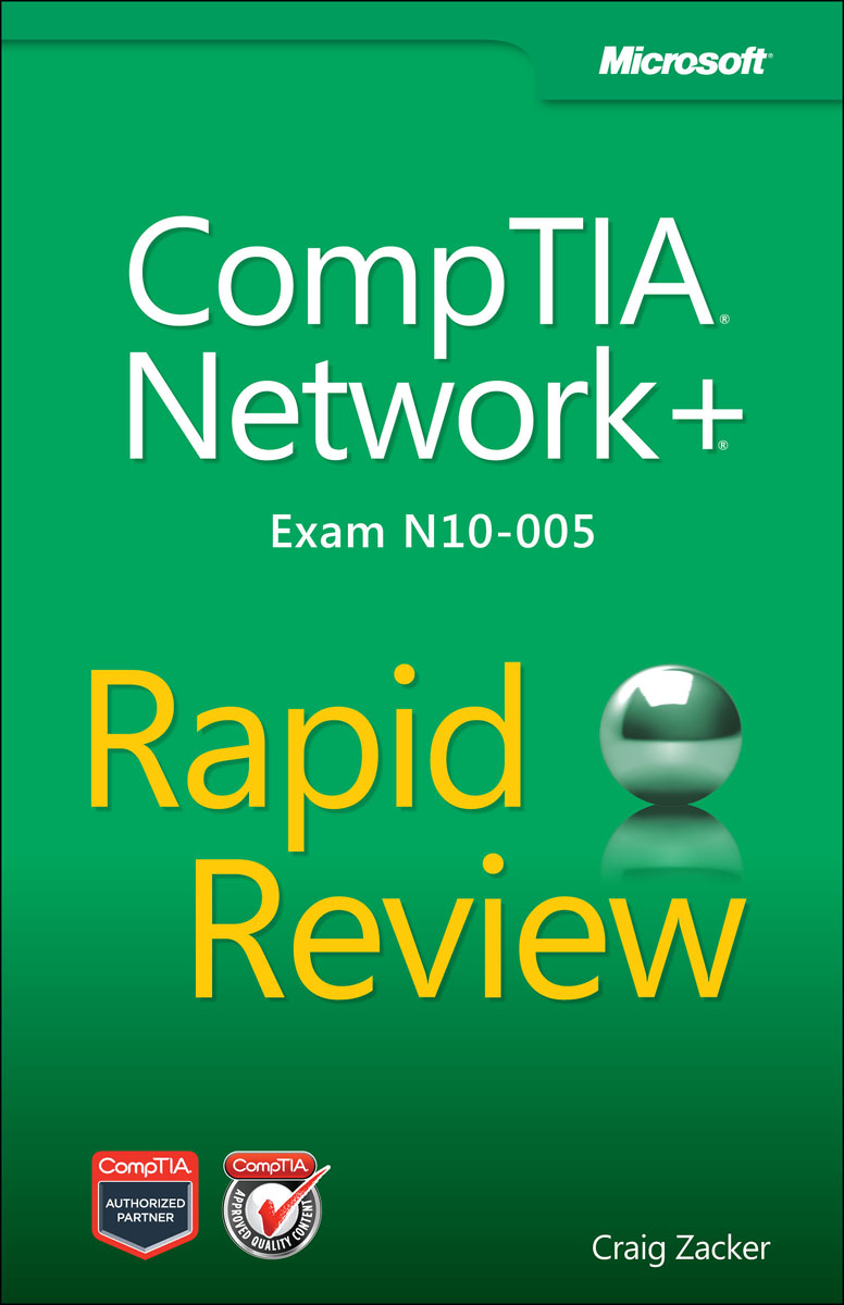 CompTIA Network+ Rapid Review (Exam N10-005) номидес капс 45мг n10