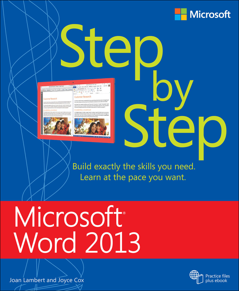 Microsoft Word 2013 Step by Step microsoft sql server 2000 programming step by step
