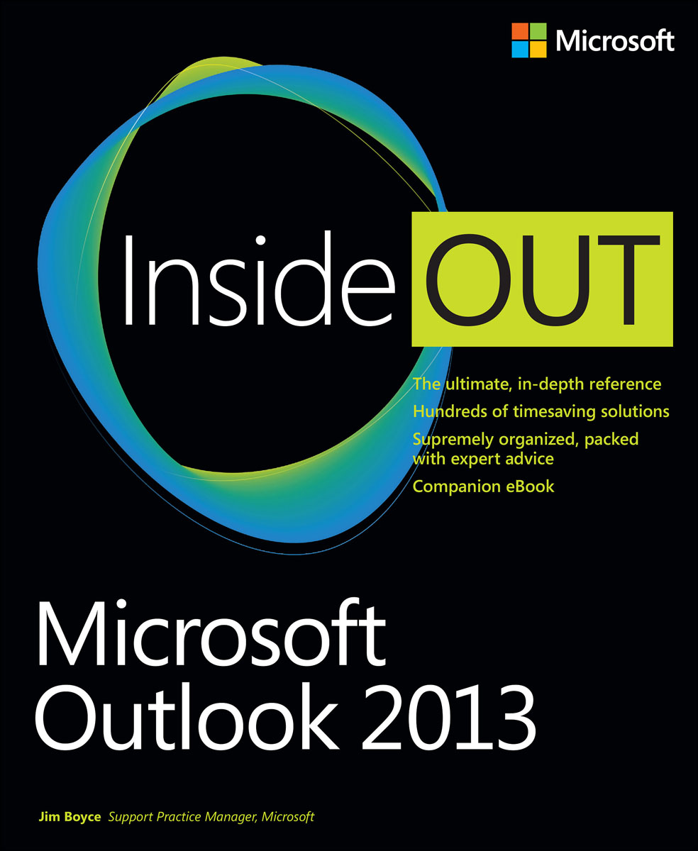Microsoft Outlook 2013 Inside Out с с топорков microsoft outlook