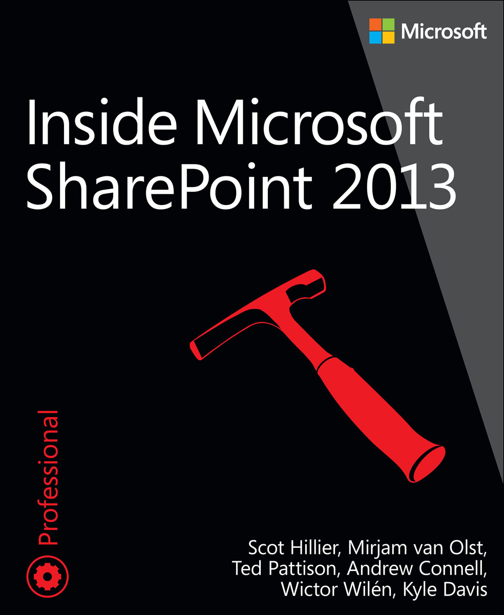 Inside Microsoft SharePoint 2013 microsoft sharepoint 2013 plain
