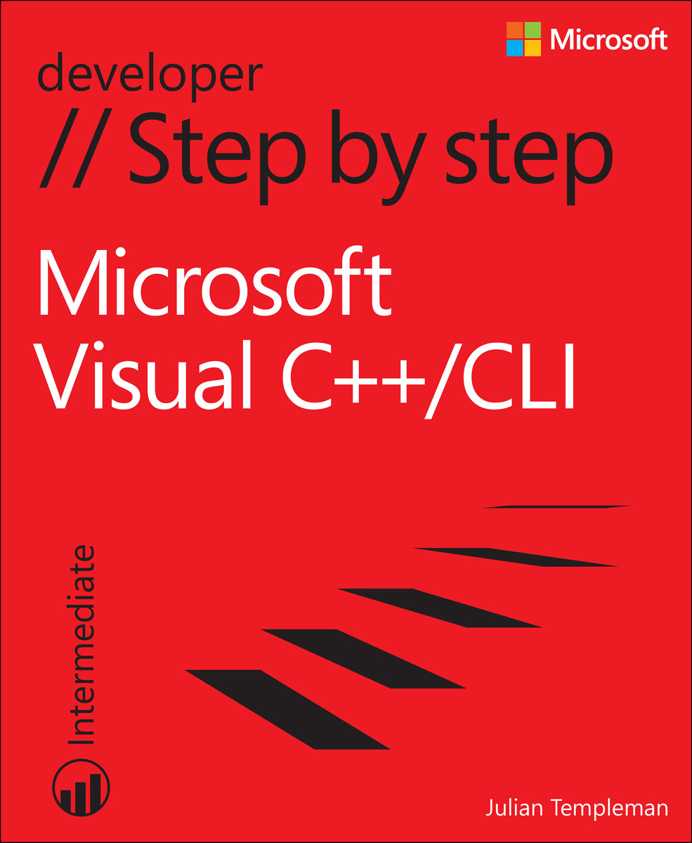 Microsoft Visual C++/CLI Step by Step microsoft sql server 2000 programming step by step