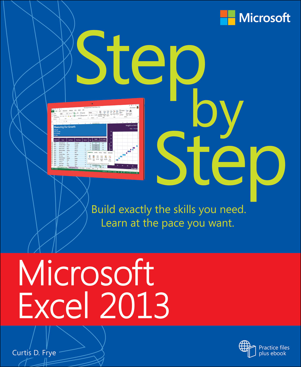 Microsoft Excel 2013 Step by Step microsoft sql server 2000 programming step by step