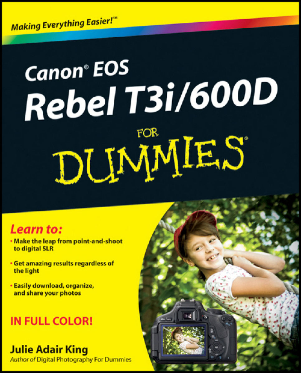 Canon EOS Rebel T3i / 600D For Dummies аккумулятор canon lp e8 for eos 550d