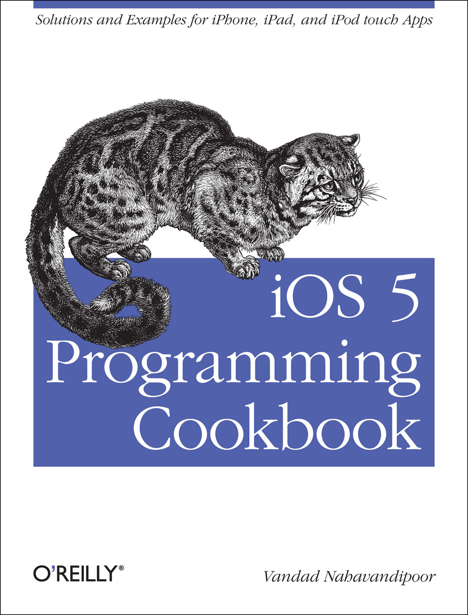 iOS 5 Programming Cookbook food e commerce