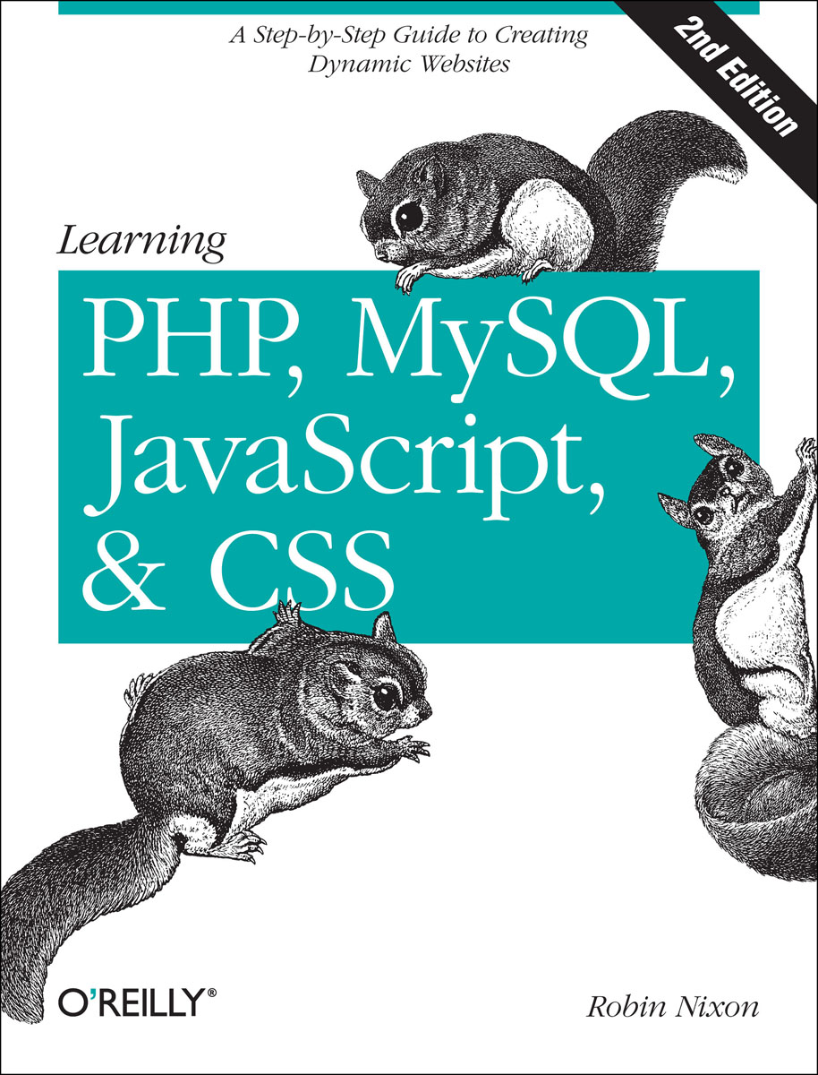 Learning PHP, MySQL, JavaScript, and CSS mysql