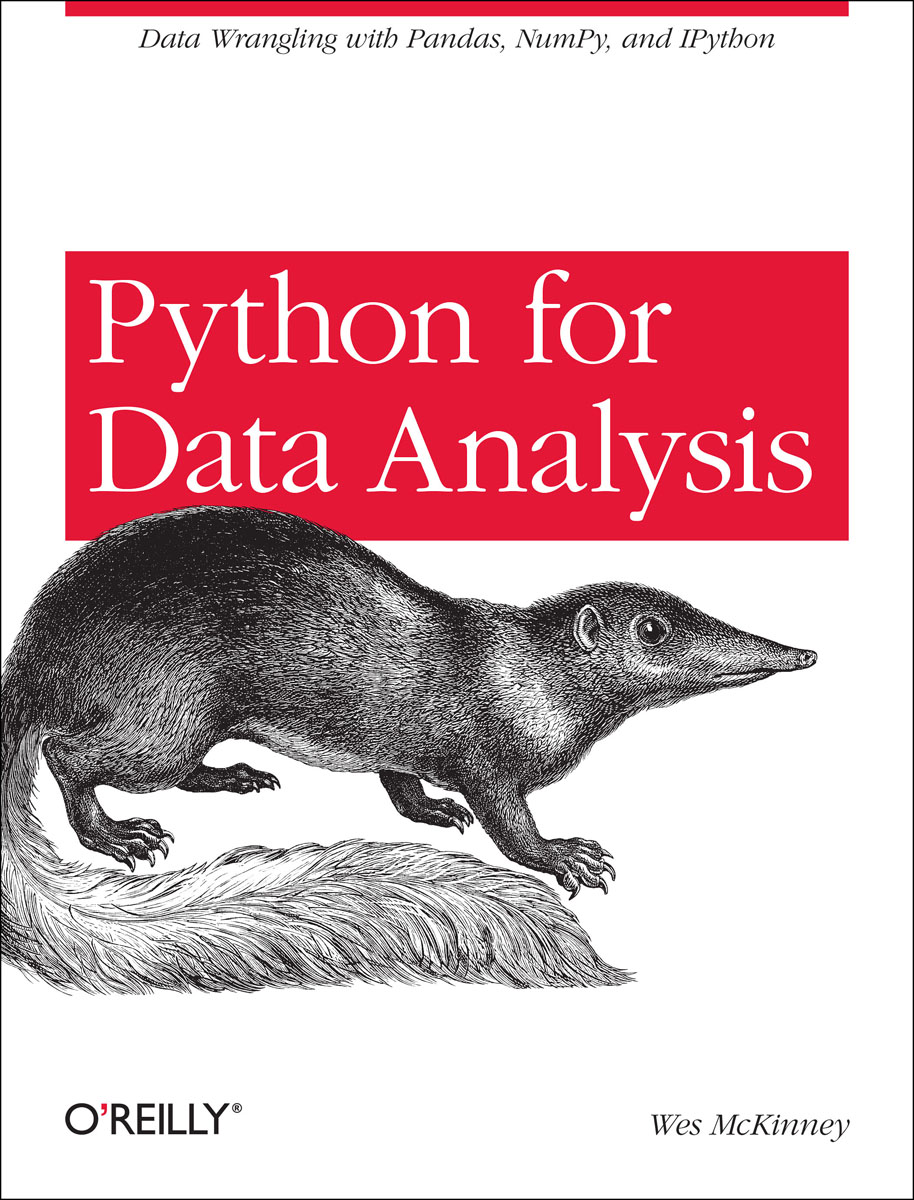 Python for Data Analysis python绝技:运用python成为顶级黑客