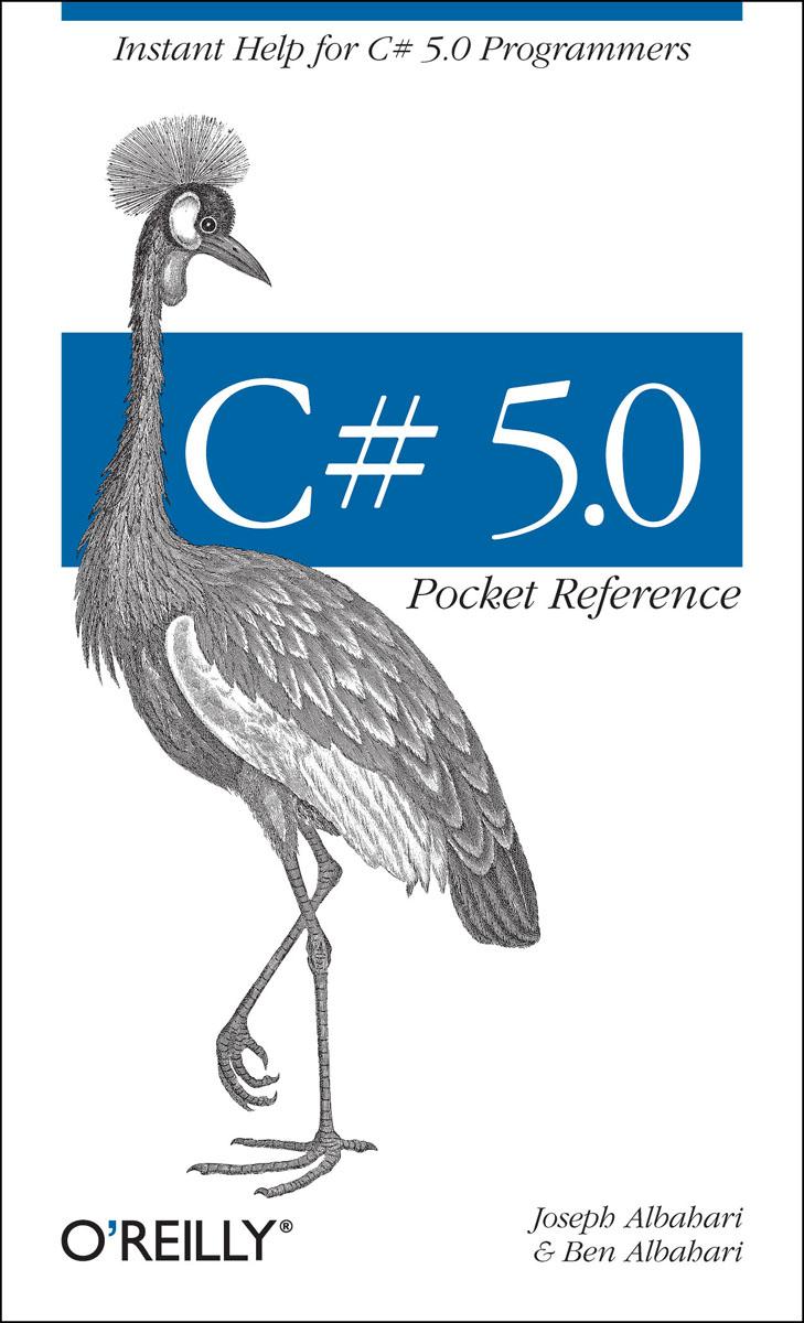 C# 5.0 Pocket Reference bash pocket reference