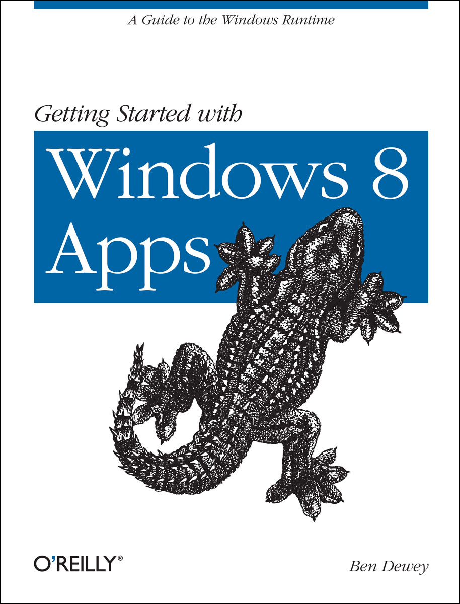 Getting Started with Windows 8 Apps getting started in stocks
