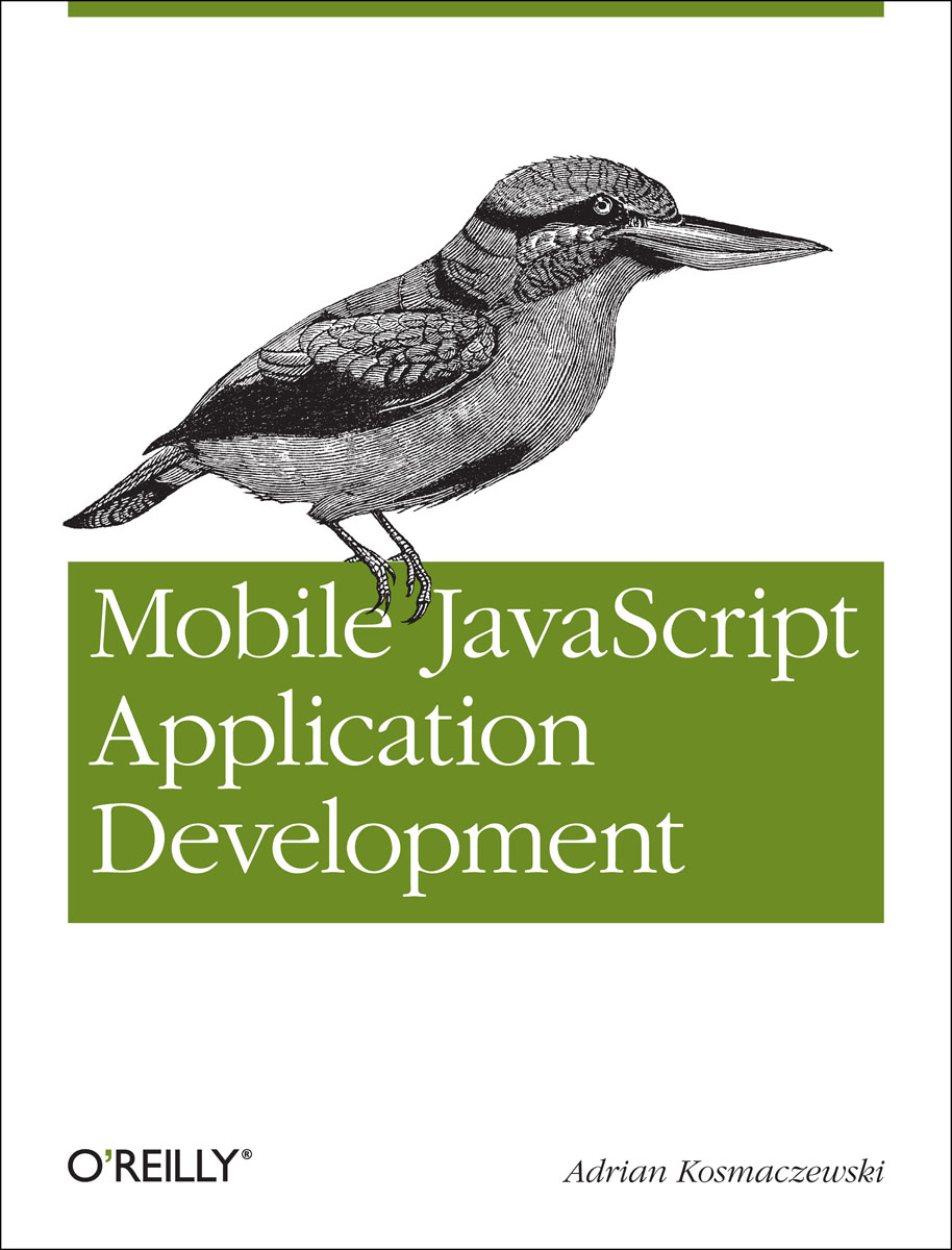 Mobile JavaScript Application Development linux® rapid application development