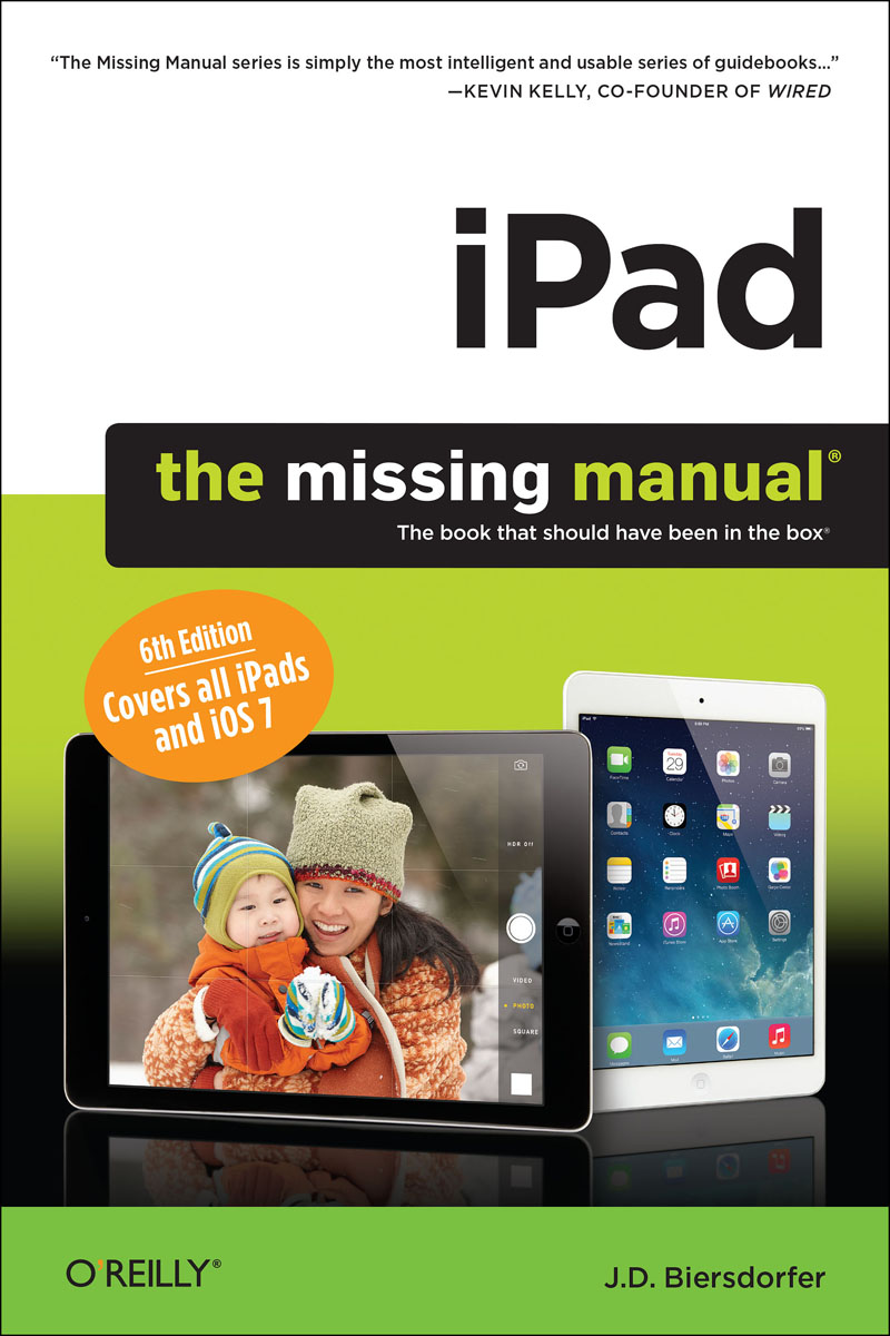 iPad: The Missing Manual wordpress the missing manual