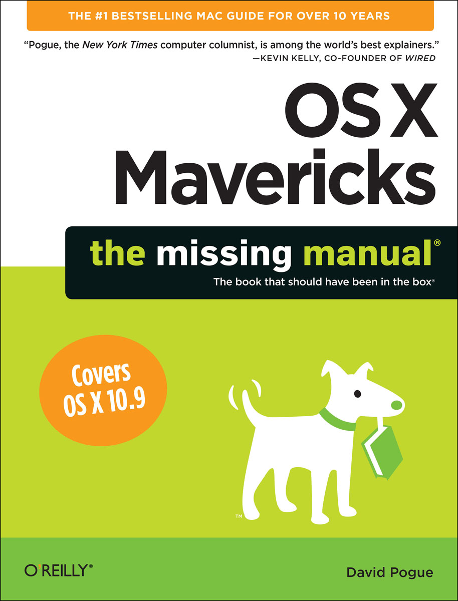 OS X Mavericks: The Missing Manual wordpress the missing manual
