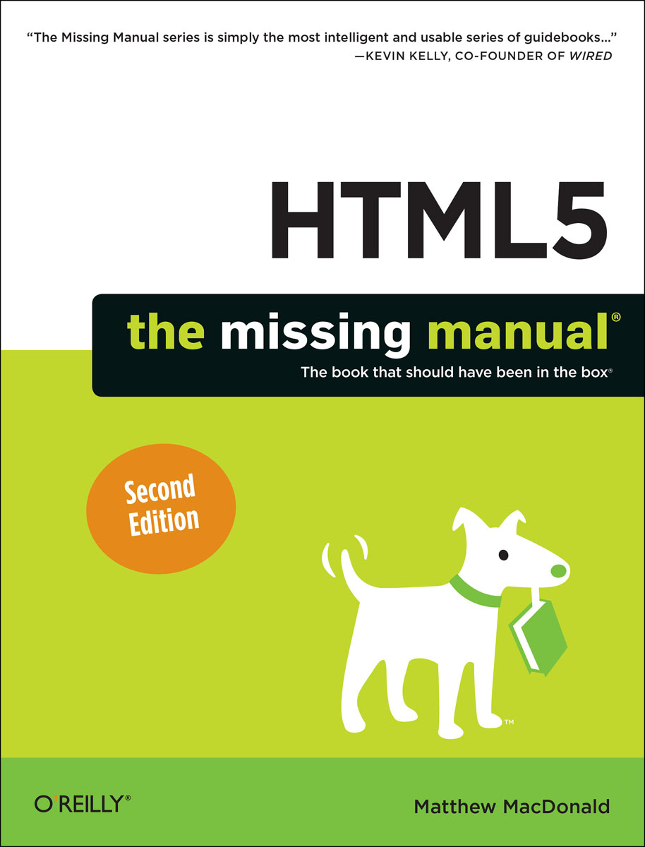 HTML5: The Missing Manual wordpress the missing manual