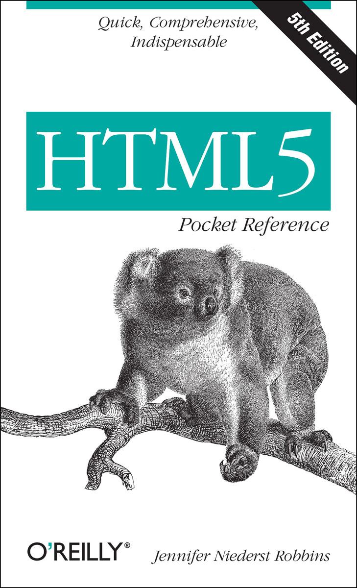 HTML5 Pocket Reference bash pocket reference