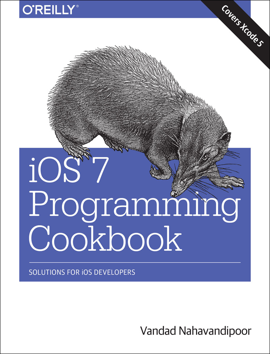 iOS 7 Programming Cookbook органайзер sparco spc org 13 gy
