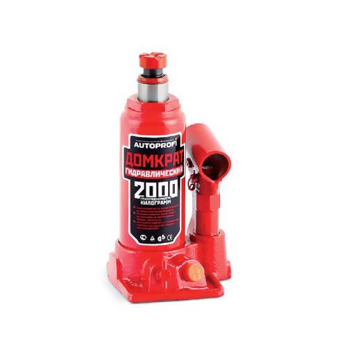 Домкрат бутылочный Автопрофи DG-02K, 2 т