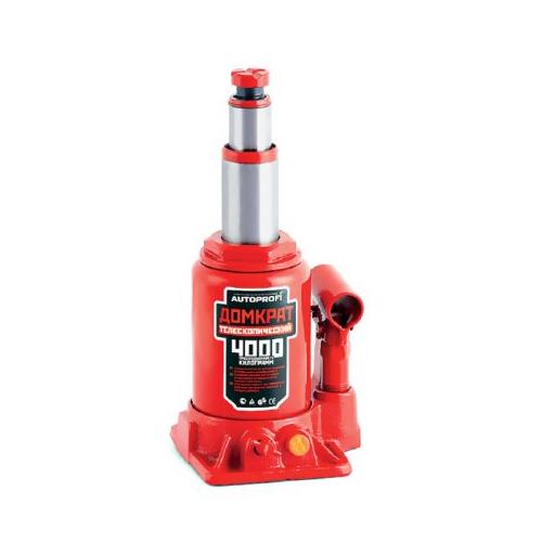 Домкрат бутылочный Автопрофи DT-04, телескопический, 4 т домкрат белак бак 00531 2т