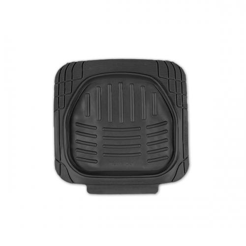 Коврики автомобильные Автопрофи / Autoprofi Transform, термопласт, цвет: черный, 2 штTER-002 BKКомплект универсальных ковриков для заднего ряда Автопрофи / Autoprofi Transform отличаются лаконичным, но в то же время функциональным дизайном. Наличие множества насечек на поверхности ковриков позволяет с помощью ножниц корректировать размер и форму изделий, адаптируя их под салон автомобиля.Коврики изготовлены из термопласта-эластомера, сохраняющего эластичность даже при экстремально низких температурах - до -50 °С. Легкий и износостойкий материал устойчив к воздействию агрессивных веществ, таких как масло, топливо или дорожные реагенты, и не обладает характерным запахом резины. Характеристики:Материал: термопласт-эластомер. Размер 1 коврика: 510 мм х 510 мм. Комплектация: 2 шт. Температура использования: от -50 до +50 °С. Артикул: TER-002 BK.