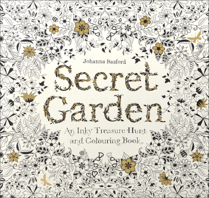 Secret Garden: An Inky Treasure Hunt and Coloring Book 2pcs cnc linear shaft chrome od 8mm l 300mm rail round steel rod bar cylinder