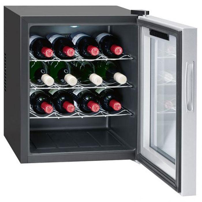 Bomann KSW 344 16 FL/46 L, Silver винный холодильник винный шкаф caso winemaster touch aone черный