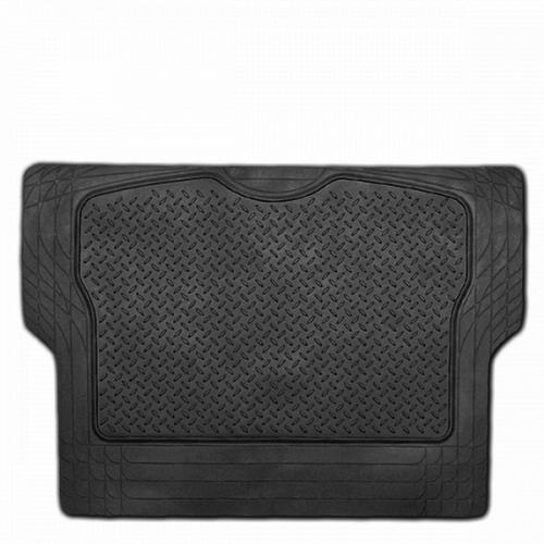 Коврик в багажник Автопрофи / Autoprofi Luxury, универсальный, морозостойкий, цвет: черный, 126,5 х 80 смTER-300M BKУниверсальный коврик для багажника Автопрофи / Autoprofi Luxury предназначен для автомобилей классов B и C. Он изготовлен из морозостойкого термопласта-эластомера, который сохраняет эластичность до температуры -50 °С. Данный материал также отличается отсутствием характерного для резины запаха и устойчив к воздействию агрессивных веществ, таких как масло, топливо или химические реагенты. Коврик обладает высокой износостойкостью и небольшим весом, благодаря чему его несложно вытащить из багажника, очистить и уложить обратно. Насечки для разреза на поверхности коврика помогают корректировать размер и форму изделия, адаптируя его под профиль багажника. Характеристики:Материал: термопласт-эластомер. Размер коврика: 1265 мм х 800 мм. Температура использования: от -50 до +50 °С. Артикул: TER-300M BK.