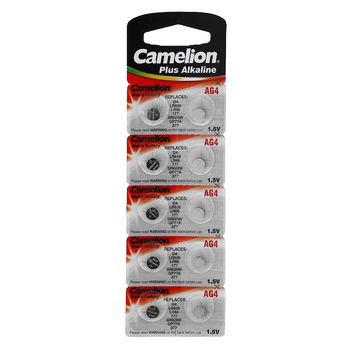 Camelion G4 BL-10 (AG4-BP10, 377A/LR626/177) батарейка для часов, 10 шт bp10