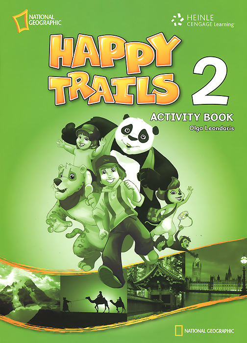 Happy Trails 2: Activity Book monster high happy howlidays a creepy cool activity book