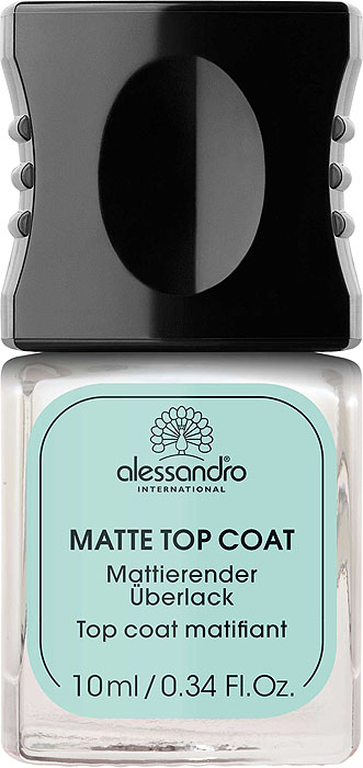 Alessandro Матовое верхнее покрытие  Matte Top Coat , 10 мл