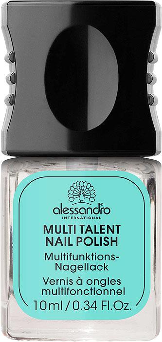 Alessandro Универсальное средство для ногтей 9 в 1  Multi Talent Nail Polish , 10 мл - Декоративная косметика