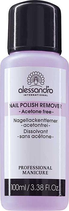 Alessandro Жидкость для снятия лака Nail Polish Remover, без ацетона, 100 мл opi жидкость для снятия лака без ацетона 120 мл