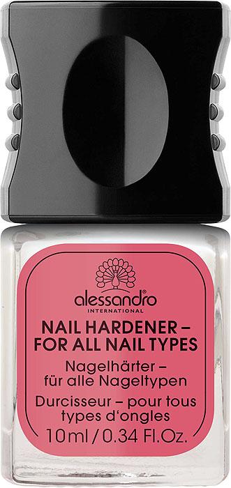 Alessandro Средство для укрепления всех типов ногтей  Nail Hardener , 10 мл - Декоративная косметика