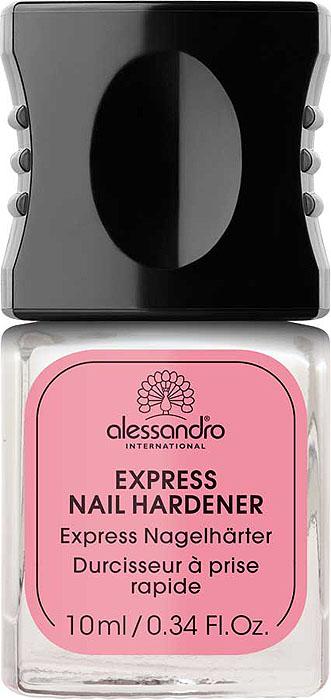 Alessandro Экспресс-средство для укрепления ногтей Express Nail Hardener, 10 мл alessandro стриплак для ногтей обнаженная парижанка alessandro striplac nude parisienne 78 369 8 мл