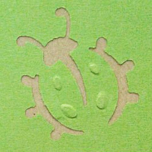 Фигурный дырокол Craft Premier Божья коровка, с тиснением. CP03801 фигурный дырокол craft premier василек с объемной вырубкой cp03658