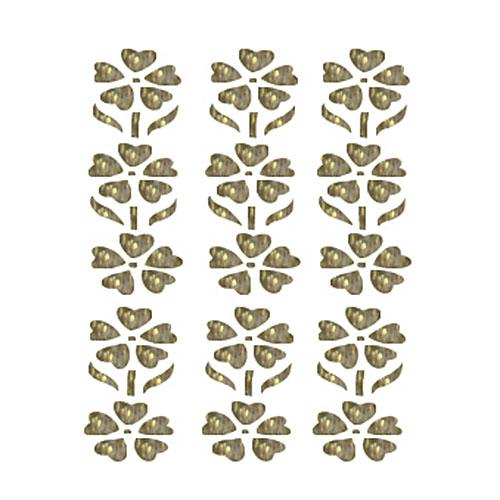 """Трансфер с глиттером по ткани """"Простые цветочки"""", 17 см х 25 см. SKT-1102, Cadence"""