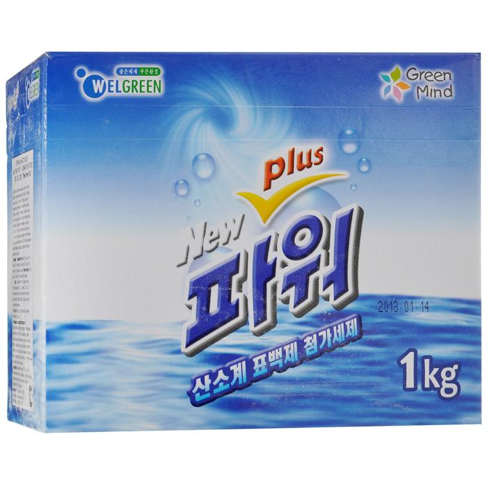 Стиральный порошок Welgreen New Power Plus, с тотолазой, 1 кг стиральный порошок welgreen new power с тотолазой 1 кг 510019