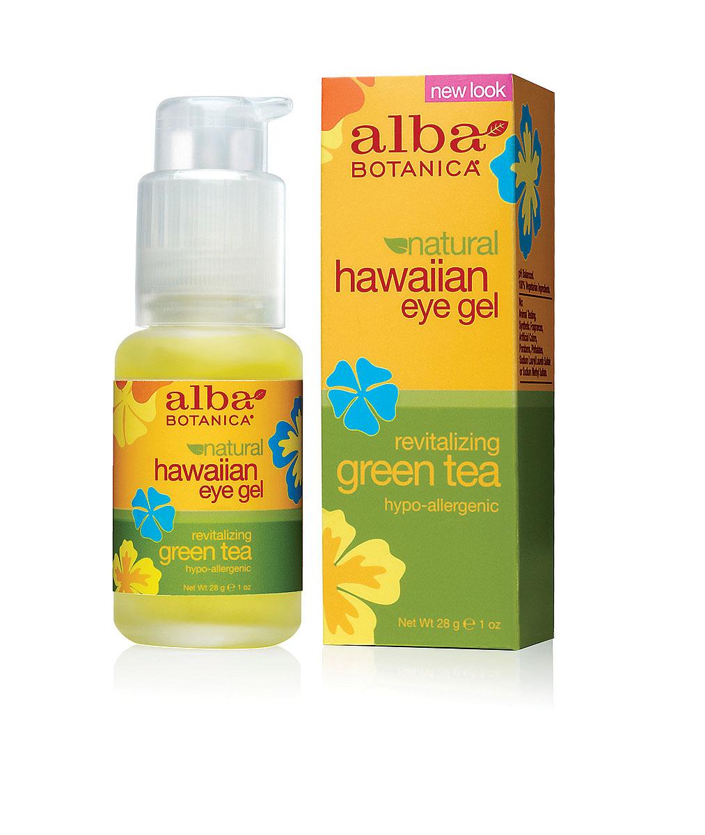 Alba Botanica Гель с зеленым чаем, для кожи вокруг глаз, 28 гAL00816Легкое, гелевое средство Alba Botanica для кожи вокруг глаз предотвращает старение. Содержит антиоксиданты и увлажняющие компоненты, защищающие тонкую нежную кожу. Успокаивает, снимает покраснения и увеличивает эластичность кожи. Характеристики:Вес: 28 г. Артикул: AL00816. Производитель: США. Товар сертифицирован.Состав: вода, сок алое вера, глицерин, экстракт зеленого чая, экстракт огурца, аллантоин, гидролизированый протеин сои, магнезиум аскорбил фосфат, пантенол, рибофлавин, карбомер, экстракт папаи, экстракт ромашки, экстракт ламинарии, экстракт спирулины, экстракт авапухи, феноксиэтанол, этилгексилглицерин.