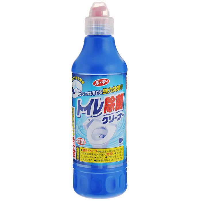 Очиститель унитаза антибактериальный Daiichi, 500 мл427225Антибактериальный очиститель унитаза Daiichi применяется для обработки внутренней поверхности унитаза, сиденья и крышки унитаза, кафеля и пола вокруг унитаза. Благодаря высококачественным компонентам средство интенсивно очищает обрабатываемую поверхность, легко удаляя такие загрязнения, как мочевой камень, известковые отложения, ржавчина, жир, грязь. Смывает потемнения и черный налет. Отмывает даже застарелые загрязнения, при этом поверхность принимает свойство отталкивания грязи. Обладает антибактериальным эффектом. Удобная форма бутылочки позволяет легко обрабатывать труднодоступные места. Характеристики: Объем: 500 мл. Артикул: 427225. Товар сертифицирован.Как выбрать качественную бытовую химию, безопасную для природы и людей. Статья OZON Гид