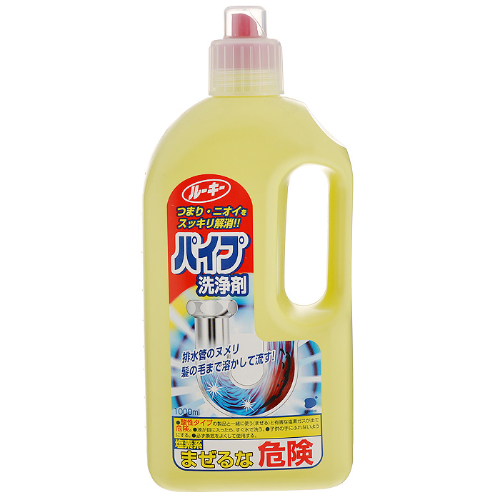 Средство для прочистки труб Daiichi, 1 л687162Средство Daiichi применяется для прочистки труб на кухнях, в умывальниках и в ванных комнатах. Прекрасно удаляет все жировые и грязевые засоры в сливных трубах, устраняя при этом неприятные запахи. Имеет уникальную формулу, позволяющую растворять скапливающиеся волосы и слизь на дне и стенках стоков. Благодаря биологически активным компонентам в составе жидкости, данное средство рекомендовано даже для изношенных и пластиковых труб. Характеристики: Объем: 1 л. Размер упаковки: 11 см х 7 см х 25 см. Артикул: 687162. Товар сертифицирован.Как выбрать качественную бытовую химию, безопасную для природы и людей. Статья OZON Гид