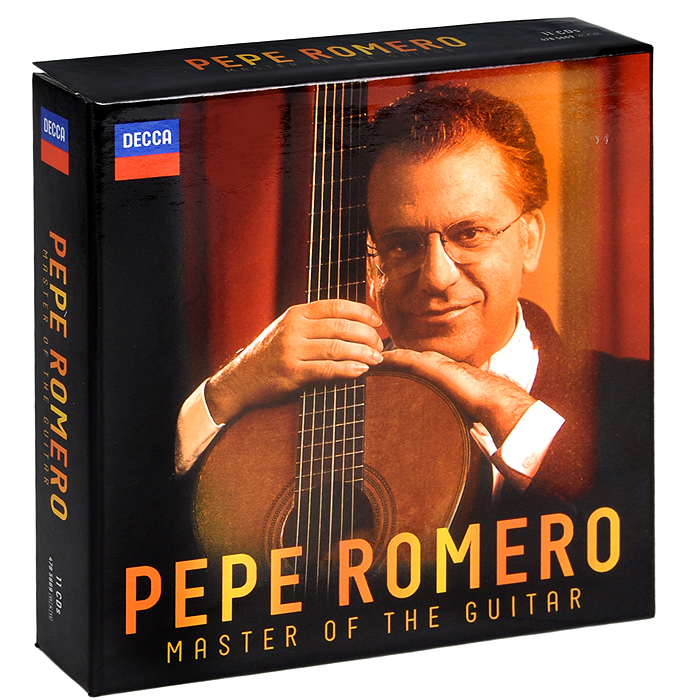 Пепе Ромеро,Academy Of St. Martin In The Fields,Энжел Ромеро Pepe Romero. Master Of The Guitar (11 CD) 5pcs 6 strings wooden guitar chevalet for acoustic guitar