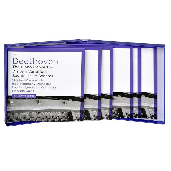 Stephen Kovacevich.  Beethoven.  The Piano Concertos / Diabelli Veriations / Bagatelles / 8 Sonatas (6 CD) Decca Classics,ООО