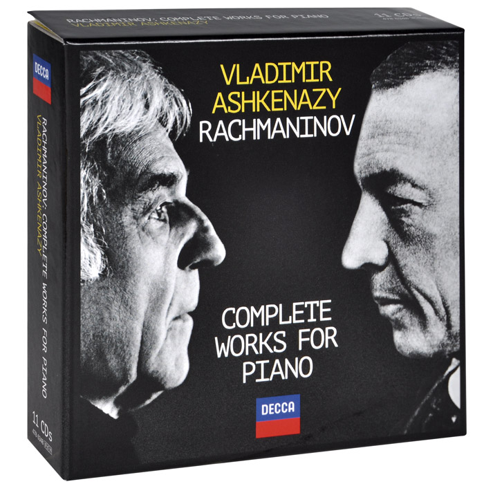 Фото - Владимир Ашкенази,Concertgebouw Orchestra,Philharmonia Orchestra,Бернард Хайтинк Vladimir Ashkenazy. Rachmaninov. Complete Works For Piano (11 CD) андрэ рье andre rieu dreaming