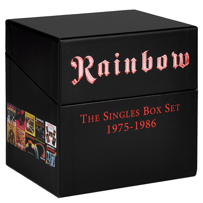 Rainbow Rainbow. The Singles Box Set 1975-1986 (19 CD) rainbow design woven choker set 2pcs