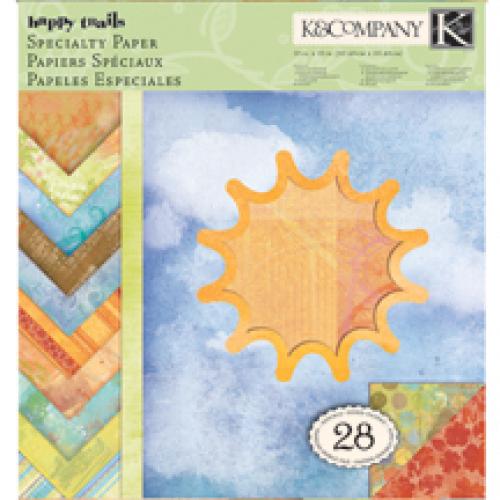 Набор бумаги для скрапбукинга K&Company Солнышко, 31 х 31 см, 28 листовKCO-30-625563Набор бумаги для скрапбукинга K&Company позволит создать красивый альбом, фоторамку или открытку ручной работы, оформить подарок или аппликацию. Набор включает 28 листов из плотной бумаги с двухсторонней печатью, всего 14 видов. Из них 16 листов матовые, 2 листа с блестками, 4 листа с тиснением фольгой, 2 листа имеют элементы, покрытые тонким слоем пены, 4 листа с глянцевыми элементами. Бумага не содержит лигнин и кислоты. Скрапбукинг - это хобби, которое способно приносить массу приятных эмоций не только человеку, который этим занимается, но и его близким, друзьям, родным. Это невероятно увлекательное занятие, которое поможет вам сохранить наиболее памятные и яркие моменты вашей жизни, а также интересно оформить интерьер дома. Характеристики: Материал: бумага. Размер листа: 31 см х 31 см. Количество листов: 28. Размер упаковки: 31 см х 32,5 см х 0,7 см. Артикул: KCO-30-625563.