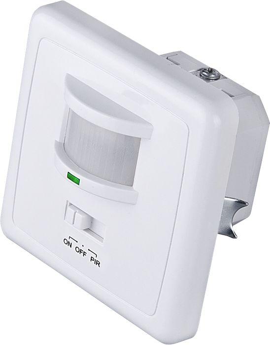 Elektrostandard датчик движения SNS-M-01a026128Датчик SNS M 01 рассчитан на использование внутри помещений. Уникальной особенностью данной модели является возможность управления режимами работы. Для установки режима работы на лицевой панели расположен трехпозиционный переключатель, который позволяет включить один из трех режимов: нагрузка включена постоянно, нагрузка отключена, автоматическое включение и выключение нагрузки. Датчик монтируется в стандартный подрозетник. Угол зоны охвата составляет 160°. Особенности:Максимальная мощность нагрузки: 1200 Вт;Угол охвата: по горизонтали 160°, по вертикали 90°;Дальность действия: 9 м;Таймер отключения: от 10 с до 7 мин;Диапазон освещенности: от 3 до 2000 люкс;Допустимая влажность: Характеристики: Материал: пластик. Размеры датчика: 8 см х 8 см х 5,7 см. Размеры упаковки: 8,5 см х 8 см х 6,5 см. Артикул:a026128.