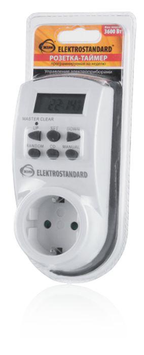Elektrostandardрозетка-таймер TMH-E-4 Elektrostandard