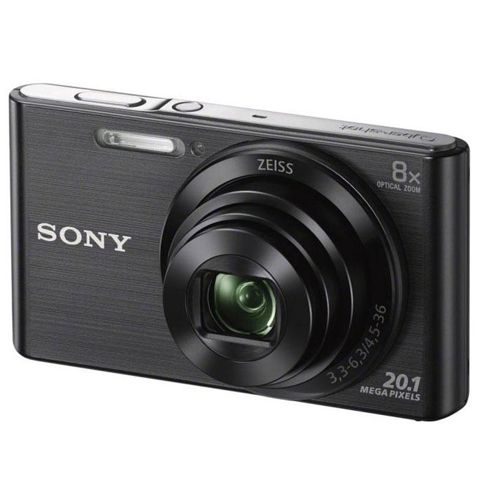 Sony Cyber-shot DSC-W830, Black цифровой фотоаппаратDSCW830B.RU3Компактная камера Sony Cyber-shot DSC-W830 с 8-кратным оптическим зумом.Делать детализированные фотоснимки и видеоролики в HD качестве теперь стало проще как никогда. Компактная камера W830 оснащена матрицей 20,1 Мпикс, объективом ZEISS c 8-кратным оптическим зумом, быстрым автофокусом и оптическим стабилизатором Optical SteadyShot и при этом она легко помещается в карман. С камерой W830 Cyber-shot вы с легкостью можете запечатлеть красоту каждого мгновения. Матрица 20,1 Мпикс с высоким разрешением и встроенный автофокус обеспечивают четкие, детализированные кадры даже при быстром движении.Мощный 8-кратный оптический зум поможет приблизить, а объектив ZEISS позволит запечатлеть увиденное с кристальной четкостью. Кнопка Movie позволяет снимать видео в формате 720p HD и мгновенно воспроизводить его, давая возможность заново пережить эти моменты с друзьями. Интеллектуальный автоматический режим Intelligent Auto автоматически настраивает параметры камеры в соответствии с условиями съемки. Быстрая съемка с прекрасной экспозицией без сложных ручных настроек.Оптический стабилизатор Optical SteadyShot переключает элементы объектива, компенсируя помехи от мелких движений и дрожания камеры, обеспечивая высокую четкость и резкость фото и видеосъемки. Благодаря эффектам красоты Beauty Effects Вы сможете редактировать и ретушировать изображение прямо на ходу, повышая качество общей обработки кадров и делая портреты друзей более яркими и живыми - даже при использовании функции Sweep Panorama. В режиме Sweep Panorama 360° просто нажмите затвор и проведите камерой из стороны в сторону или сверху вниз. Камера автоматически сшивает серию кадров на высокой скорости и создает панорамные снимки всей сцены целиком.Тип матрицы: 1/2.3 (7,76 мм)Процессор BionzФокусировка по лицу, функция Smile Shutter, линии сеткиКорректировка экспозиции: шаг +/-2,0 EV, 1/3 EVВремя работы от аккумулятора: около 210 снимков (стандарт CIPA) / или