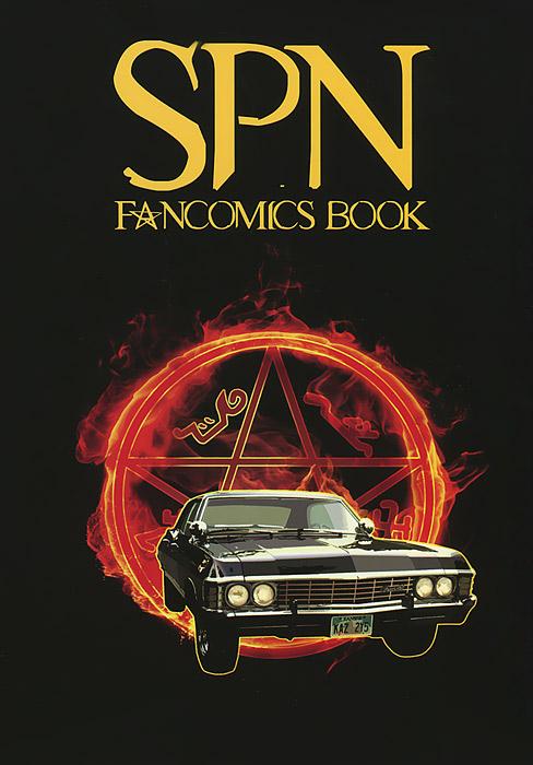SPN Fancomics Book spn fancomics book
