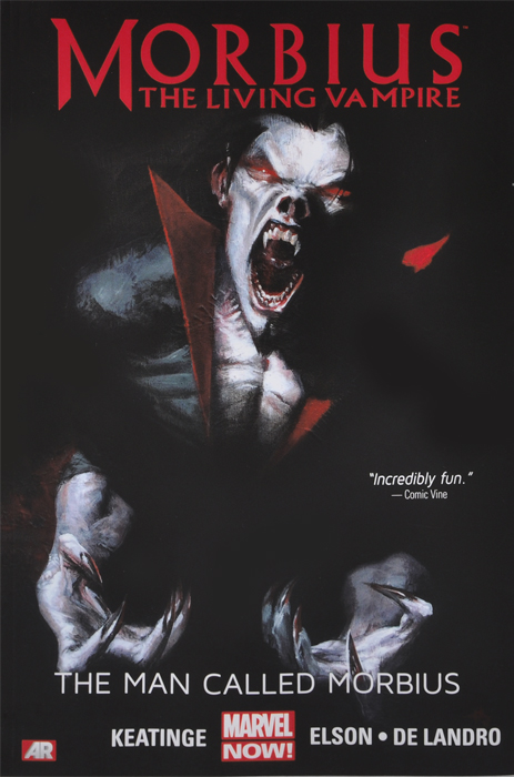 Morbius: The Living Vampire: The Man Called Morbius the man within