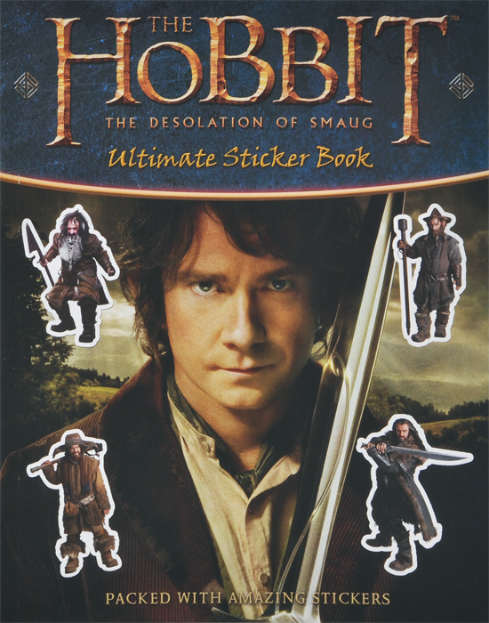 The Hobbit: The Desolation of Smaug: Ultimate Sticker Book the annotated hobbit