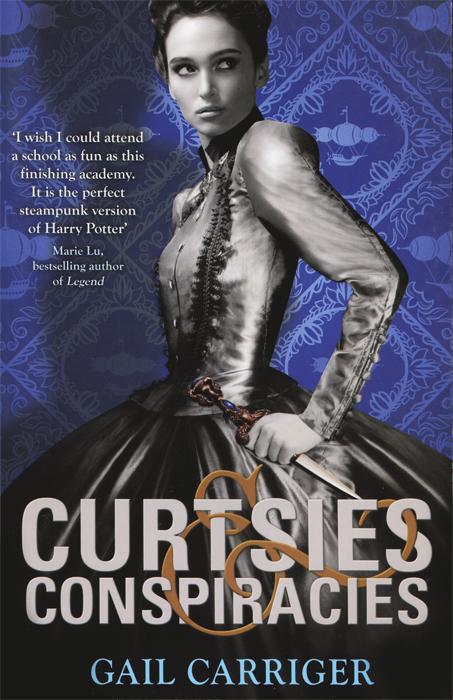 Curtsies & Conspiracies trays